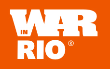 War in Rio, a marca.
