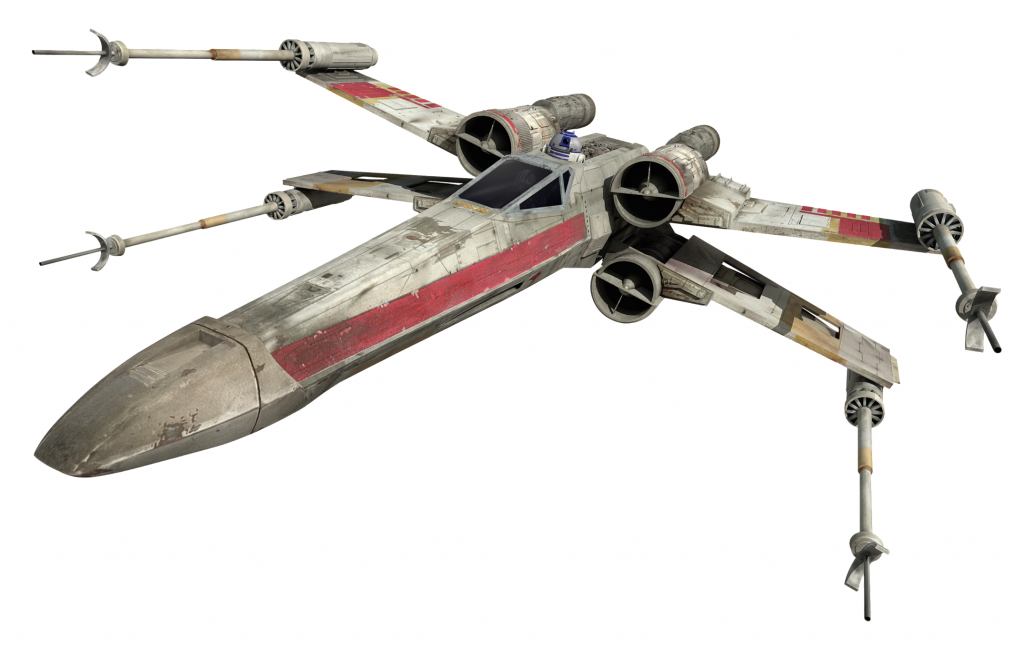 Death stars and x-wing squadrons, kickstarters go wild